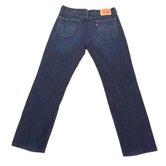 Levi's Other - Genuine Levi's 514 Denim Jeans - Dark Blue Wash